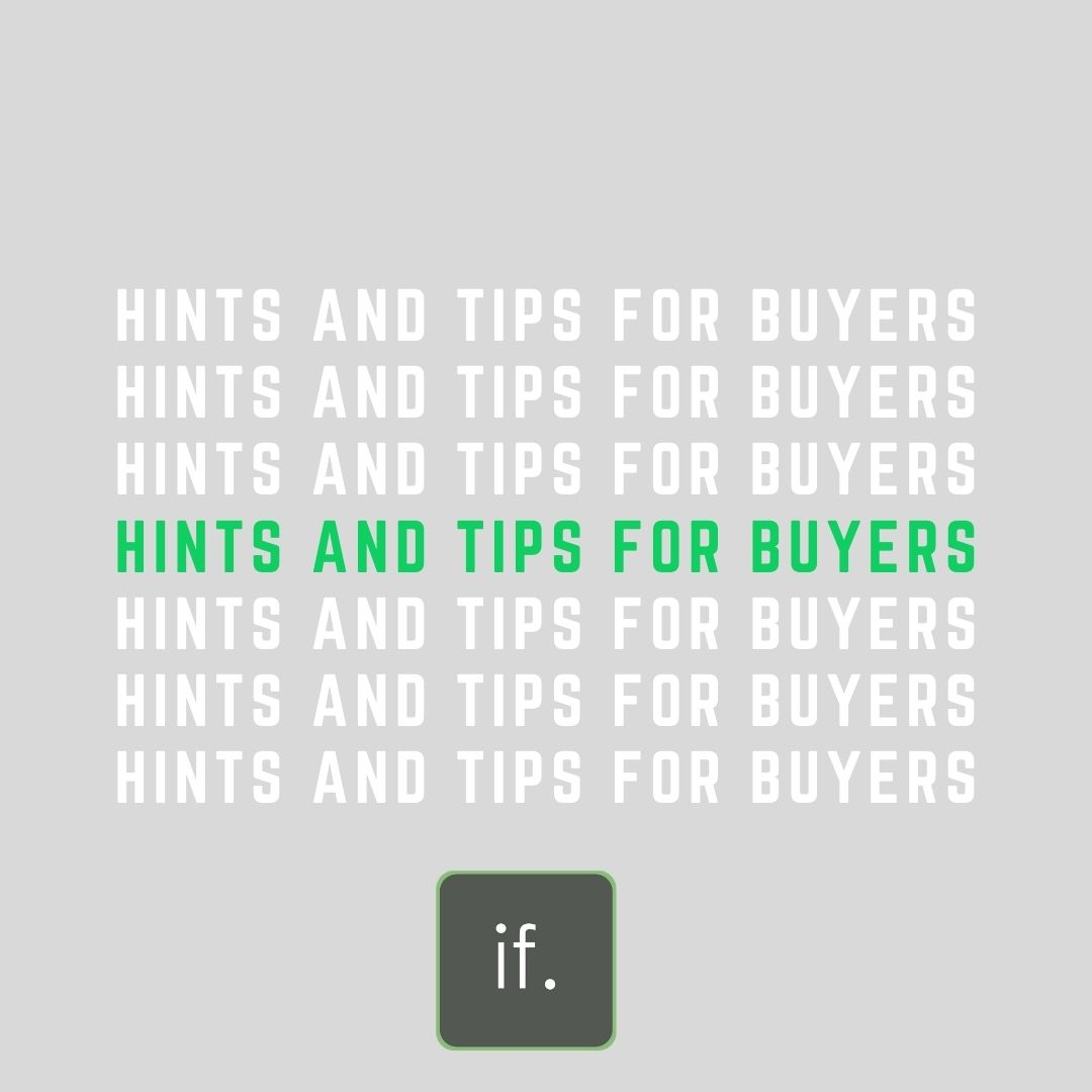 Blogs for Buyers: Hints & Tips